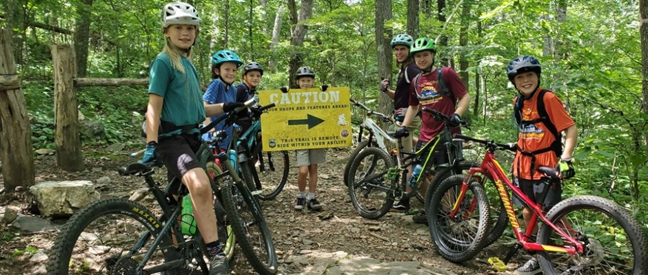 Kids Mountain Bike Camp
